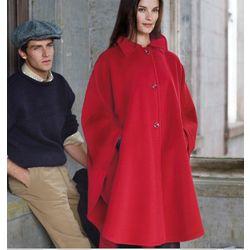 Cashmere and Wool Irish Cape