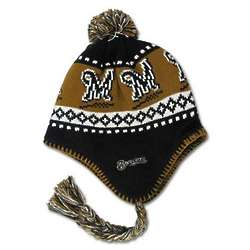 Brewers Men's Braided Knit Hat