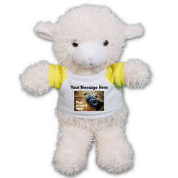 Ruddly Lamb Personalized Stuffed Animal