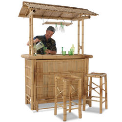 Genuine Bamboo Tiki Bar