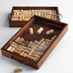 Wine Cork Collecting Kit with Tray