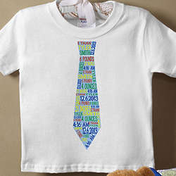 Personalized Baby Boy's Dressed for Success T-Shirt