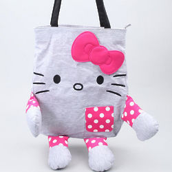 Hello Kitty Jersey Tote