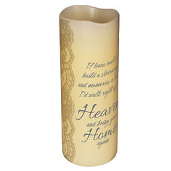 If Tears Could Build a Stairway Memorial Candle