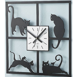 Picture Prrrrfect Wall Clock