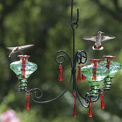 Mini Blossom Chandelier Hummingbird Feeder