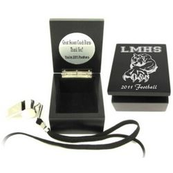 Personalized Whistle and Memory Box