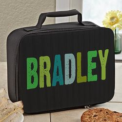 Hands Off Personalized Lunch Tote for Him