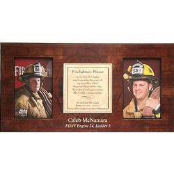 Firefighter's Prayer Photo Frame