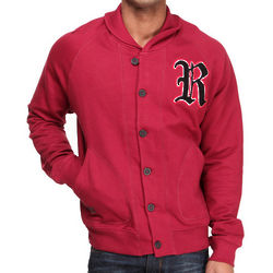 Men's Red Crenshaw Cardigan
