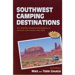 Southwest Camping Destinations Book