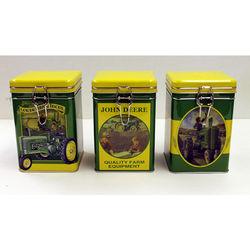 John Deere Lock-Top Tins Set