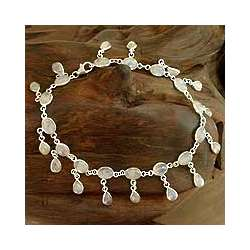 Moon Dancer Moonstone Anklet