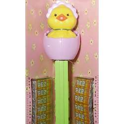 Giant Musical Easter Chick Pez Dispenser