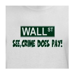 Anti Bankers White T-Shirt