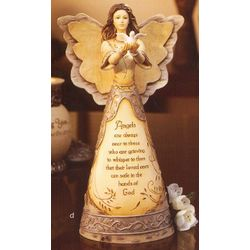 With Sympathy Angel Figurine