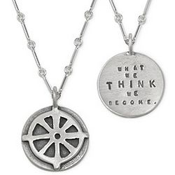 What We Think Buddhist Necklace