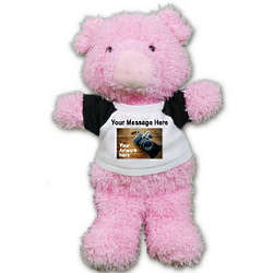 Ruddly Pig Personalized Stuffed Animal