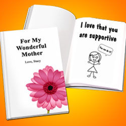 Personalized Mother's Day LoveBook