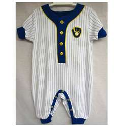Brewers Newborn Retro Coverall