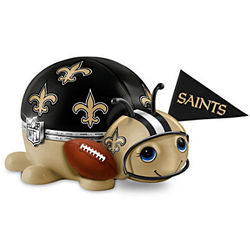New Orleans Saints Number One Fan Bug Music Box