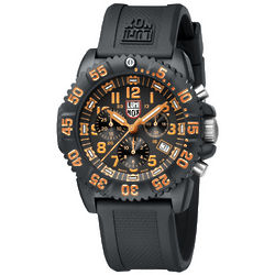 Men's Orange Colormark Chronograph Watch