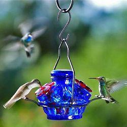 Pot de Creme Moon and Stars Hummingbird Feeder