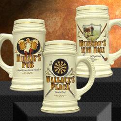 Personalized German Beer Stein