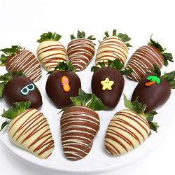 Summertime Chocolate Covered Strawberries