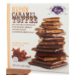 Bacon Caramel Toffee Chocolates