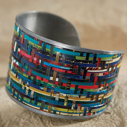 Tin Cans Cuff Bracelet