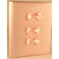 Pink & White Baby Photo Album