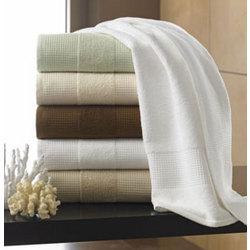 Buonaparte Egyptian Cotton Waffle Luxury Spa Towel Set