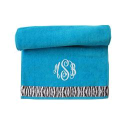 Monogrammed Spa / Gym Towel