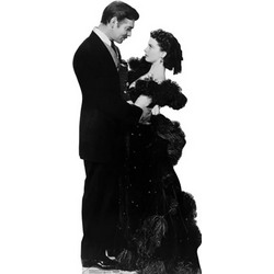 Clarke Gable & Vivien Leigh, Gone With the Wind Cutout