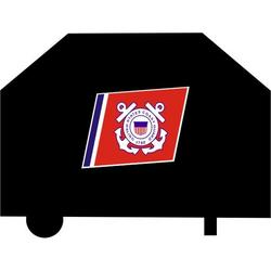 US Coast Guard Black Grill Cover