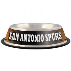 San Antonio Spurs Stainless Steel Pet Bowl
