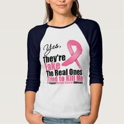 Yes They're Fake, My Real Ones Tried to Kill Me T-Shirt