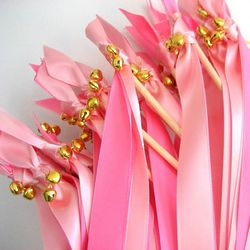 Beautiful Wedding Wands with Bells