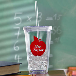 Personalized Teacher On the Go Tumbler