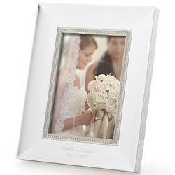Lenox Engravable Jubilee Pearl Accent Frame
