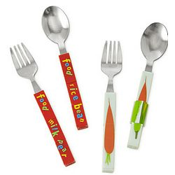 Cubetensils Spoon and Fork Set