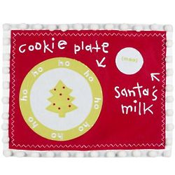 Personalized Santa Cookie Mat