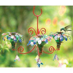 Sugar Shack Mini Blossom Chandelier Hummingbird Feeder