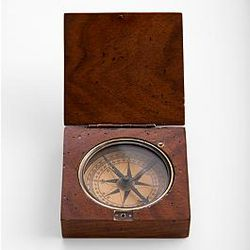 Lewis and Clark Wood Replica Compass