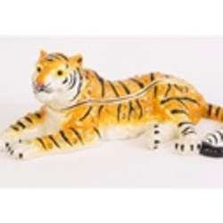 Peaceful Tiger Trinket Box