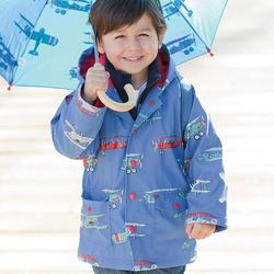 Kid's Colorful Raincoat