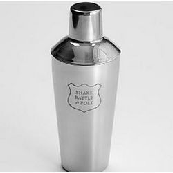 Shake Rattle and Roll Stainless Steel Shaker
