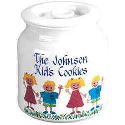 Air Tight Cookie Jar with Sponge Kids