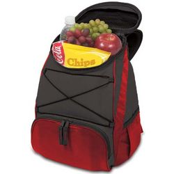 Red Insulated PTX Backpack Cooler